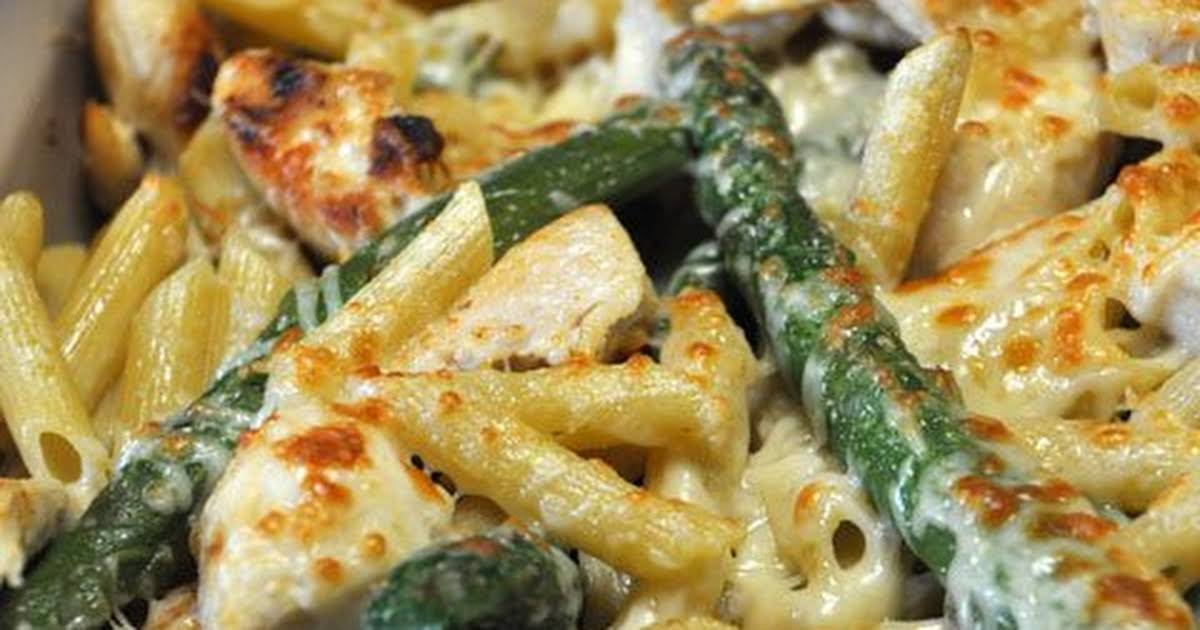 Chicken & Asparagus Penne Recipe | Yummly