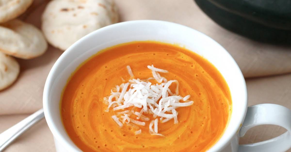 Thai Red Curry Coconut Squash Soup Recipe